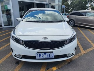 2018 Kia Cerato BD MY19 S White 6 Speed Sports Automatic Hatchback.
