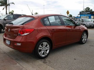 2015 Holden Cruze JH Series II MY15 Equipe Red 6 Speed Sports Automatic Hatchback