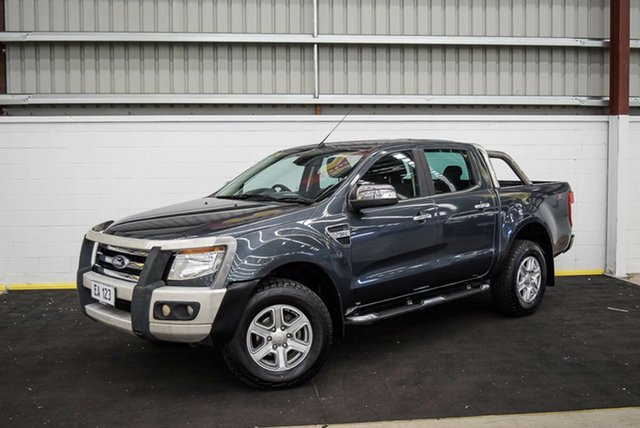 Used Ford Ranger PX XLT Double Cab Canning Vale, 2014 Ford Ranger PX XLT Double Cab Grey 6 Speed Sports Automatic Utility