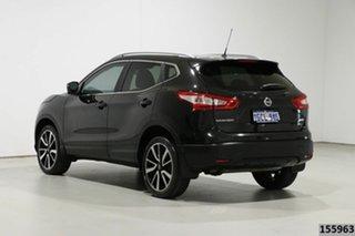 2016 Nissan Qashqai J11 TI Black Continuous Variable Wagon