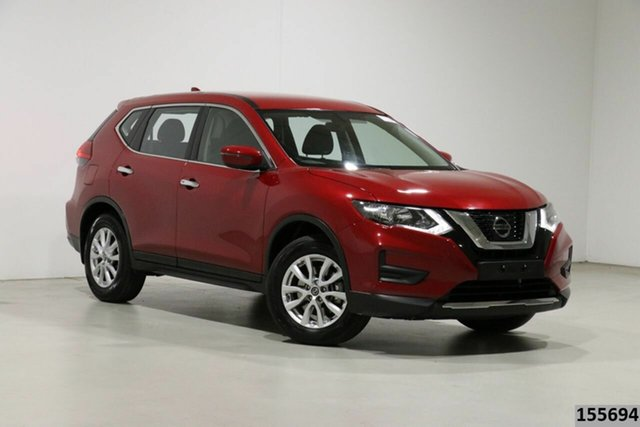 Used Nissan X-Trail T32 Series 2 ST 7 Seat (2WD) Bentley, 2019 Nissan X-Trail T32 Series 2 ST 7 Seat (2WD) Red Continuous Variable Wagon