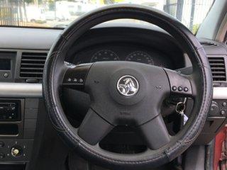 2003 Holden Vectra ZC CD Burgundy 5 Speed Manual Sedan