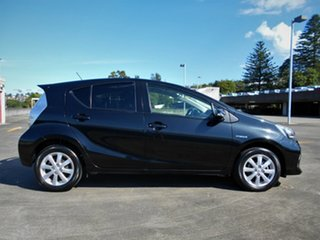 2013 Toyota Prius c NHP10R i-Tech E-CVT Black 1 Speed Constant Variable Hatchback Hybrid.