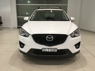 2013 Mazda CX-5 KE1021 MY13 Grand Touring SKYACTIV-Drive AWD Crystal White Pearl 6 Speed