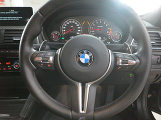 2016 BMW M3 F80 LCI Competition M-DCT Black 7 Speed Sports Automatic Dual Clutch Sedan
