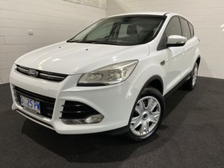 2013 Ford Kuga TF Ambiente AWD White 6 Speed Sports Automatic Wagon