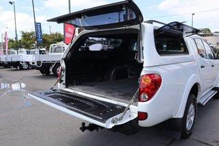 2014 Mitsubishi Triton MN MY15 GLX Double Cab White 5 Speed Manual Utility