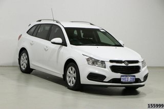 2015 Holden Cruze JH MY16 CD White 6 Speed Automatic Sportswagon