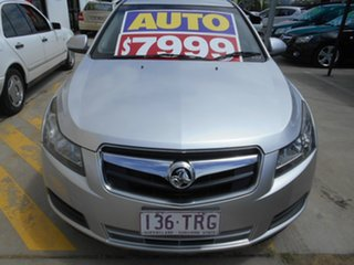 2010 Holden Cruze JG CD Silver 6 Speed Sports Automatic Sedan.