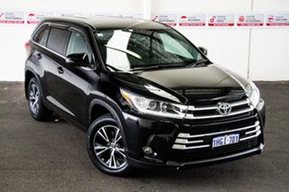 2017 Toyota Kluger GSU50R MY17 GX (4x2) Eclipse Black 8 Speed Automatic Wagon.