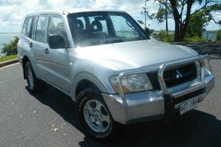 2005 Mitsubishi Pajero NP MY05 GLX Silver 5 Speed Sports Automatic Wagon.