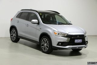 2017 Mitsubishi ASX XC MY17 XLS (2WD) Silver Continuous Variable Wagon