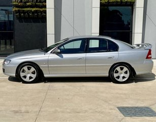 2006 Holden Commodore VZ MY06 SVZ Silver 4 Speed Automatic Sedan