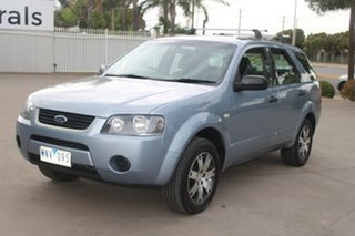 2008 Ford Territory SY SR (RWD) Blue 4 Speed Auto Seq Sportshift Wagon.