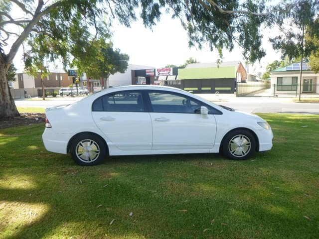 Used Honda Civic 8th Gen Hybrid Beverley, 2009 Honda Civic 8th Gen Hybrid White Constant Variable Sedan