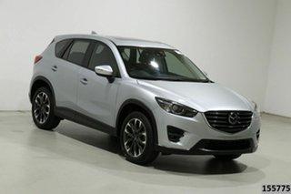 2016 Mazda CX-5 MY15 Akera (4x4) Silver 6 Speed Automatic Wagon