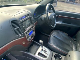 2007 Hyundai Santa Fe CM MY07 Elite Metallic Silver 5 Speed Sports Automatic Wagon