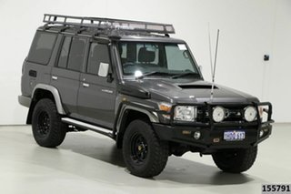 2014 Toyota Landcruiser VDJ76R MY12 Update GXL (4x4) Grey 5 Speed Manual Wagon