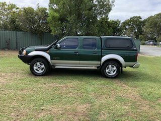 2006 Nissan Navara D22 S2 ST-R Green 5 Speed Manual Utility