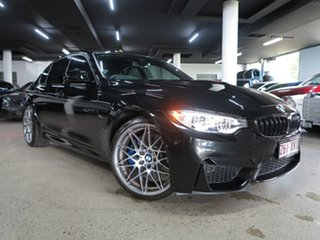 2016 BMW M3 F80 LCI Competition M-DCT Black 7 Speed Sports Automatic Dual Clutch Sedan.