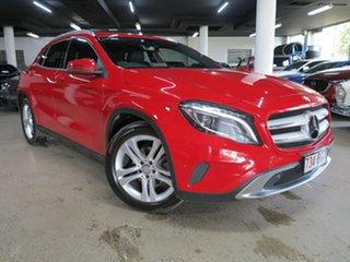 2016 Mercedes-Benz GLA-Class X156 806MY GLA200 d DCT Red 7 Speed Sports Automatic Dual Clutch Wagon.