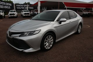 2017 Toyota Camry AXVH71R Hybrid Silver 6 Speed Automatic Sedan.