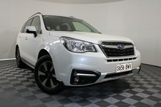 2016 Subaru Forester S4 MY16 2.0D-L CVT AWD Pearl White 7 Speed Constant Variable Wagon.
