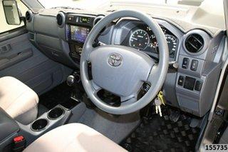 2019 Toyota Landcruiser VDJ76R GXL (4x4) Graphite 5 Speed Manual Wagon