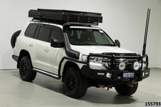 2019 Toyota Landcruiser VDJ200R LC200 VX (4x4) Crystal Pearl 6 Speed Automatic Wagon