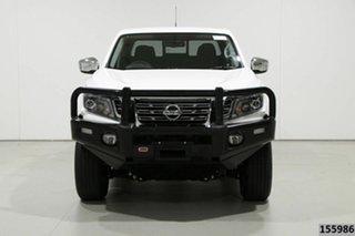 2019 Nissan Navara D23 Series III MY18 ST (4x4) White 7 Speed Automatic Dual Cab Pick-up.