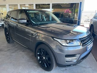 2015 Land Rover Range Rover LW Sport SDV8 HSE Grey 8 Speed Automatic Wagon.