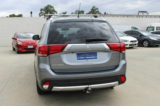 2016 Mitsubishi Outlander ZK MY16 XLS 2WD Grey 6 Speed Constant Variable Wagon