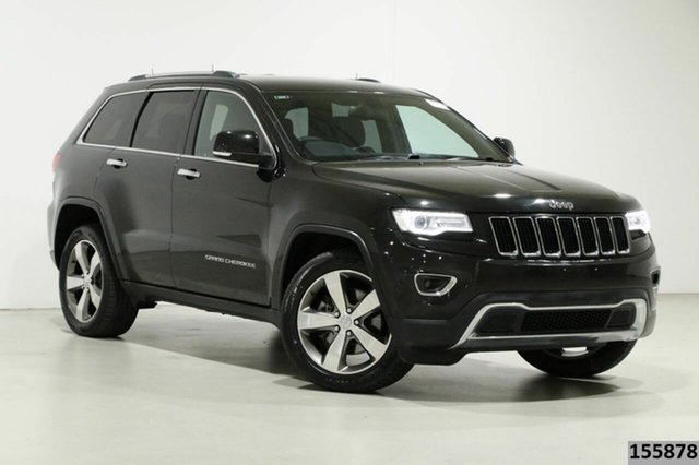 Used Jeep Grand Cherokee WK MY14 Limited (4x4) Bentley, 2013 Jeep Grand Cherokee WK MY14 Limited (4x4) Black 8 Speed Automatic Wagon