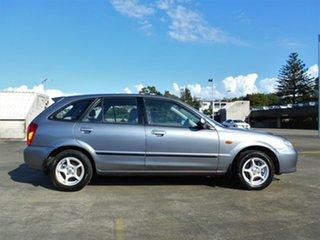 2002 Mazda 323 BJ II-J48 Astina Grey 5 Speed Manual Hatchback.