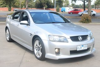 2006 Holden Commodore VE SV6 Silver 5 Speed Automatic Sedan.