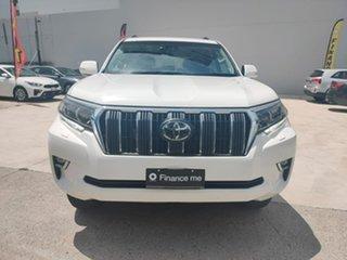 Toyota Landcruiser Prado GXL White Sports Automatic Wagon.