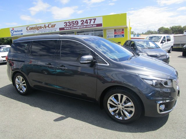 Used Kia Carnival YP MY16 Platinum Kedron, 2016 Kia Carnival YP MY16 Platinum Grey 6 Speed Sports Automatic Wagon