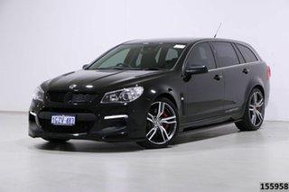 2016 Holden Special Vehicles ClubSport Gen F2 R8 Tourer LSA Black 6 Speed Auto Active Sequential.