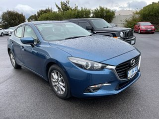 2017 Mazda 3 BN5476 Maxx SKYACTIV-MT Blue 6 Speed Manual Hatchback.