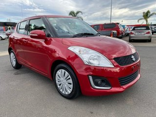 2014 Suzuki Swift FZ GL Navigator Red Automatic Hatchback.