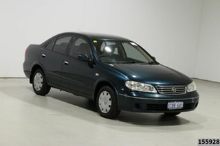 2005 Nissan Pulsar N16 MY03 ST Green 5 Speed Manual Hatchback
