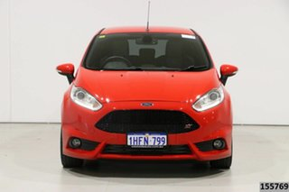 2015 Ford Fiesta WZ ST Red 6 Speed Manual Hatchback.