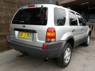 2004 Ford Escape ZB XLS Silver 4 Speed Automatic SUV