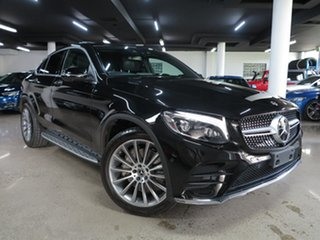 2018 Mercedes-Benz GLC-Class C253 808MY GLC250 Coupe 9G-Tronic 4MATIC Black 9 Speed Sports Automatic.