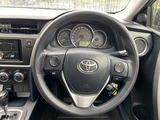 2013 Toyota Corolla ZRE182R Ascent S-CVT Bronze 7 Speed Constant Variable Hatchback