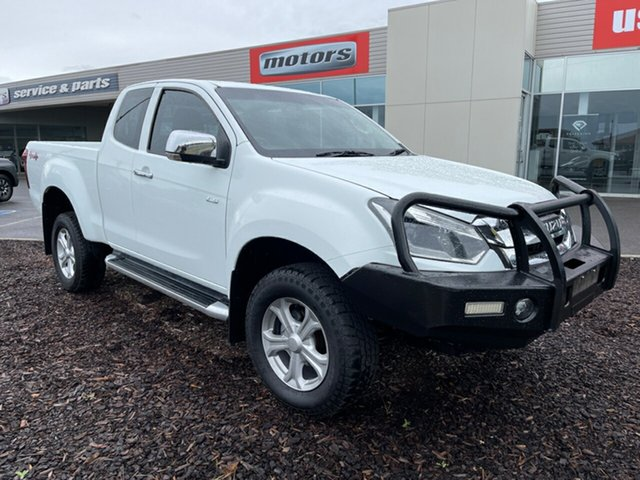 Used Isuzu D-MAX MY17 LS-U Space Cab Devonport, 2017 Isuzu D-MAX MY17 LS-U Space Cab White 6 Speed Sports Automatic Utility