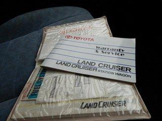 2008 Toyota Landcruiser VDJ78R GXL Troopcarrier White 5 Speed Manual Wagon