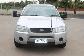 2005 Ford Territory SY TS (RWD) Silver 4 Speed Auto Seq Sportshift Wagon.