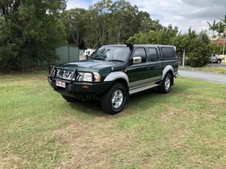 2006 Nissan Navara D22 S2 ST-R Green 5 Speed Manual Utility.