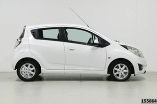 2011 Holden Barina Spark MJ CD White 5 Speed Manual Hatchback